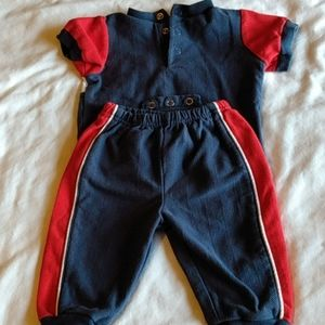 3-6 month onesie with pants, All Star baby Elmo
